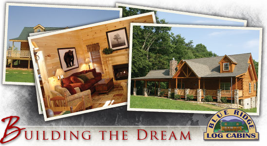 Pre Built Log Cabin & Log Homes by Blue Ridge Log Cabins