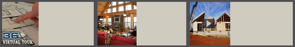 manufactured log homes menu bar