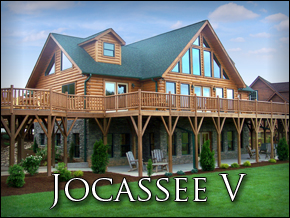 Log Home Virtual Tour: Jocassee V