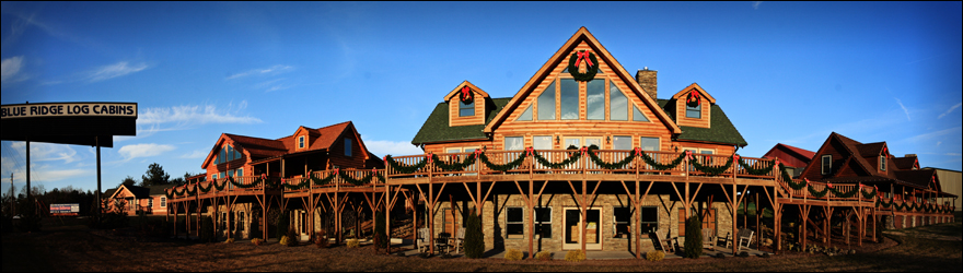 Blue Ridge Log Cabins: Visit Us