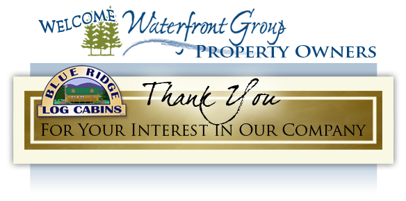 Waterfront Group and Your Log Home