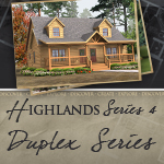 Modular Log Homes: Highlands Duplex