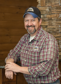 Log Home Builders: Ricky McGwinn