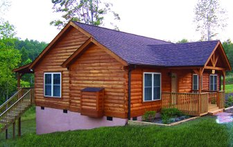 Log Homes: Columbus 2