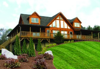 Log Home: Jocassee 4