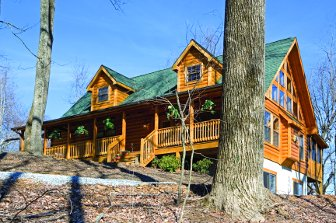 Log Home: Linville 1