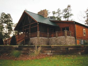 Log Homes: Pisgah 1