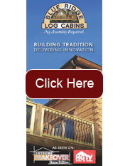 log home: trifold brochure