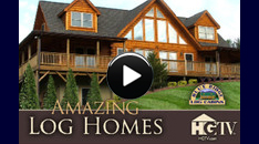 Log Home Video: HGTV's Amazing Log Homes
