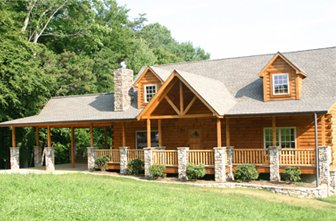 Log Home Floor Plan Highlands 2