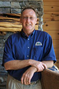 Log Home Builders: Mike Poteat