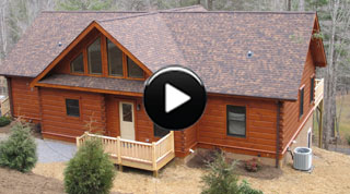 Log Cabin BUILD-iSODE #13: Pisgah I Log Home