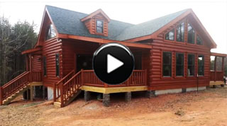 Log Cabin BUILD-iSODE #15: Blowing Rock II Log Home