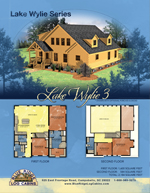 Log Cabin Floor Plans: Lake Wylie 3
