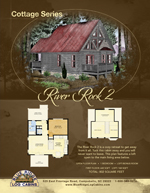 Log Cabin Floor Plans: River Rock 2