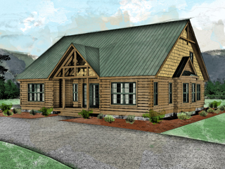 Log Homes: Banner Elk 2