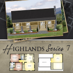 Modular Log Homes: Highlands 7