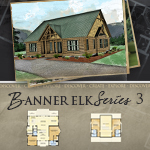Log Cabin Floor Plans: Banner Elk 3