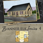 Log Cabin Floor Plans: Banner Elk 4
