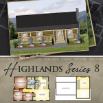 Modular Log Homes: Highlands 8