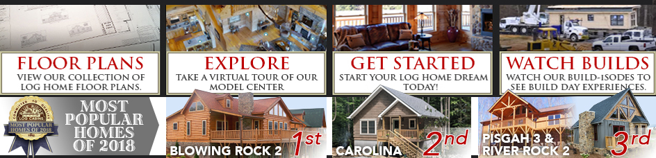 Log Cabins, Log Homes, Modular Log Cabins – Blue Ridge Log Cabins