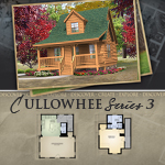 Modular Log Homes: Cullowhee 3