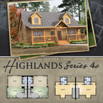 Modular Log Homes: Highlands 4C