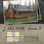 Modular Log Homes: Lake Lure 5