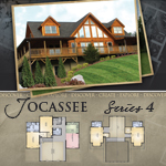 Modular Log Homes: Jocassee 4