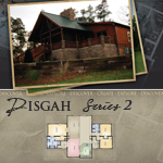 Log Cabin Floor Plans: Pisgah 2
