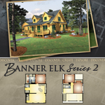 Log Cabin Floor Plans: Banner Elk 2