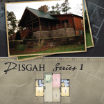 Log Cabin Floor Plans: Pisgah 1
