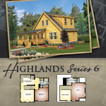 Modular Log Homes: Highlands 6