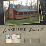 Modular Log Homes: Lake Lure 3