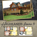 Modular Log Homes: Highlands 5
