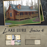 Modular Log Homes: Lake Lure 4