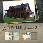 Log Cabin Floor Plans: Linville 2