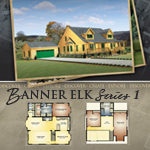Log Cabin Floor Plans: Banner Elk 1