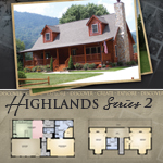 Modular Log Homes: Highlands 2