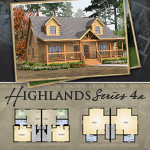 Modular Log Homes: Highlands 4A