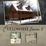 Modular Log Homes: Cullowhee 1
