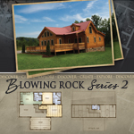 Log Cabin Floor Plans: Blowing Rock 2