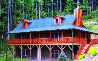 Log Homes: Blowing Rock 1