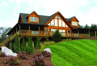 Log Home: Jocassee 2