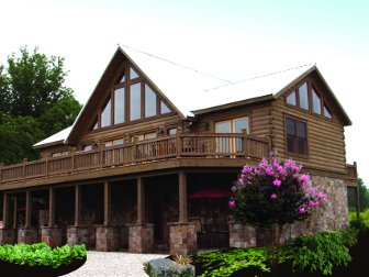 Log Home: Jocassee 3