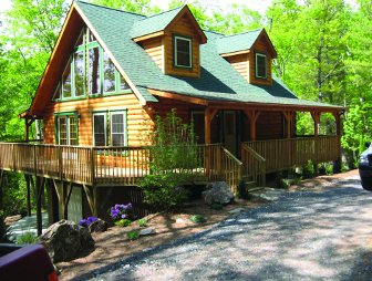 Log Home: Linville 3