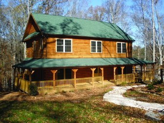Log Home: Savannah 1