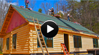 Log Cabin Homes: Buildi-Sode 5