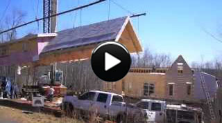 Log Cabin Homes: Buildi-Sode 4