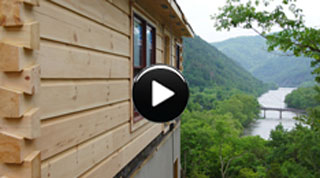 Log Cabin Homes: Buildi-Sode 7